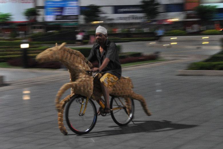 Offering Horses by Attaphol Sudawannasuk