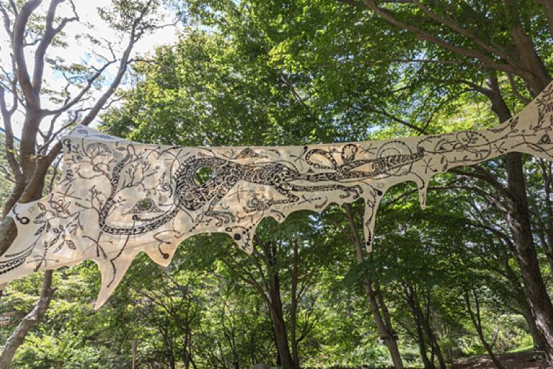 Tree Mural by Yusuke Asai