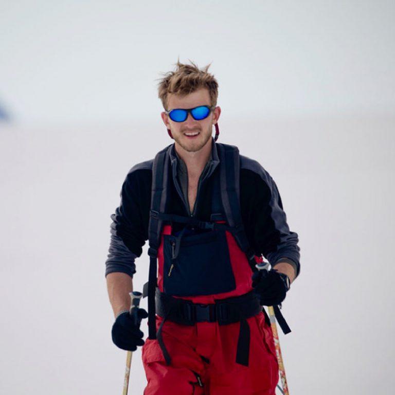 Climate Explorer Barney Swan