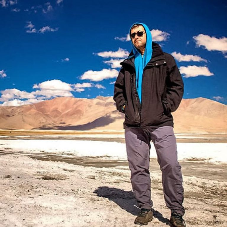 Divyanshu Ganatra: The Blind Adventurer