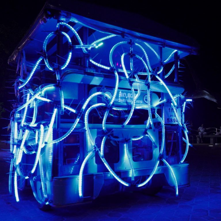 Oscilloscope Smithy by Baan Noorg Collaborative Arts & Culture X JITR Collective